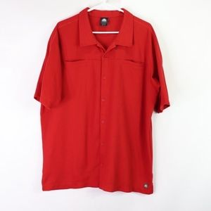 Vintage 90s Nike ACG Mens 2XL Button Front Shirt